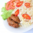 Fried Rice and Beef — Stock Photo #16847239