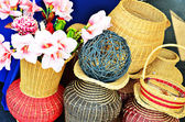 Various shaped basket — Stock Photo