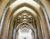 Hallway of a mosque — Stock Photo