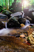 Waterfall in slow motion — Stock Photo