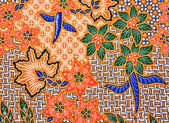 Batik Texture — Stock Photo