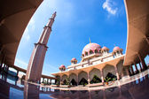 Masjid Putra in Putrajaya — Stock Photo