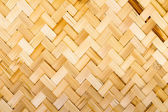 Native Thai style bamboo weave — Photo