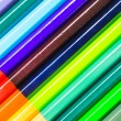 Colorful pencils background — Stock Photo