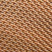 Texture of synthetic rattan weave — Stock Photo