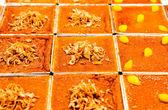 Mischen sie süße dessert, thai-stil dessert — Stockfoto