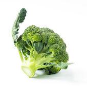 Broccoli vegetable isolated on white background — Stock Photo