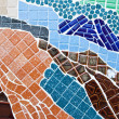 Colorful mosaic background  — Photo