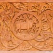 Traditional Thai style wood carving — Stock Photo #31983401