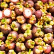 Stock Photo: Tropical Fruit,Mangosteen Queen of fruit in Thailand