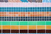 Colorful mosaic background — Stock Photo