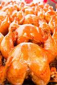 Gekochtes huhn mit fischsauce, thailändische küche — Stockfoto