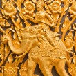 Thai style wood carving — Stock Photo #31995867