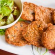 Fried fish cake Thai style food — Foto de Stock