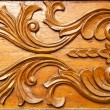 Stock Photo: Thai style wood carving