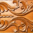 Thai style wood carving — Stock Photo #32041595
