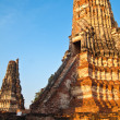 Ancient pagoda-Ayutthaya Thailand — Stock Photo