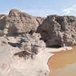 Постер, плакат: The Amazing of Rock Natural of Rock Canyon in Khong River after