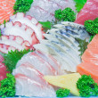 Mixed sashimi, raw fish — Foto Stock