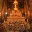 Buddha inside Wat Phra Kaeo Temple, The Grand Palace bangkok, Th — Stock Photo