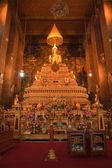 Buddha inside Wat Phra Kaeo Temple, The Grand Palace bangkok, Th — Stock Photo
