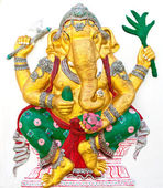 Indian or Hindu ganesha God Named Siddhi Ganapati at temple in t — Stock Photo