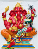 Indian or Hindu ganesha God Named Vara Ganapati at temple in tha — Stock Photo