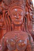 Sculpture sur bois de style thai native — Photo