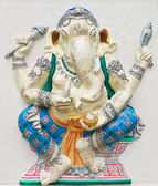 Indian or Hindu ganesha God Named Haridra Porasada Ganapati at t — Stock Photo