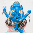 Indian or Hindu ganesha God Named Ekdanta Ganapati at temple in — Stock Photo