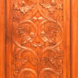 Thai style wood carving — Stock Photo #32356439