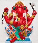 Indian or Hindu ganesha God Named Dhundhi Ganapati at temple in — Stock Photo