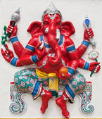 Indian or Hindu ganesha God Named Kasipa Porasada Ganapati at te — Stock Photo