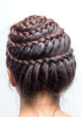 Braid hair — Stockfoto