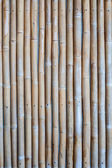 Natural bamboo texture concealed cement wall — Stock Photo