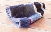 Close up knit wool hat — Stock Photo