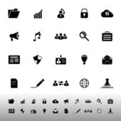 General document icons on white background — Vecteur