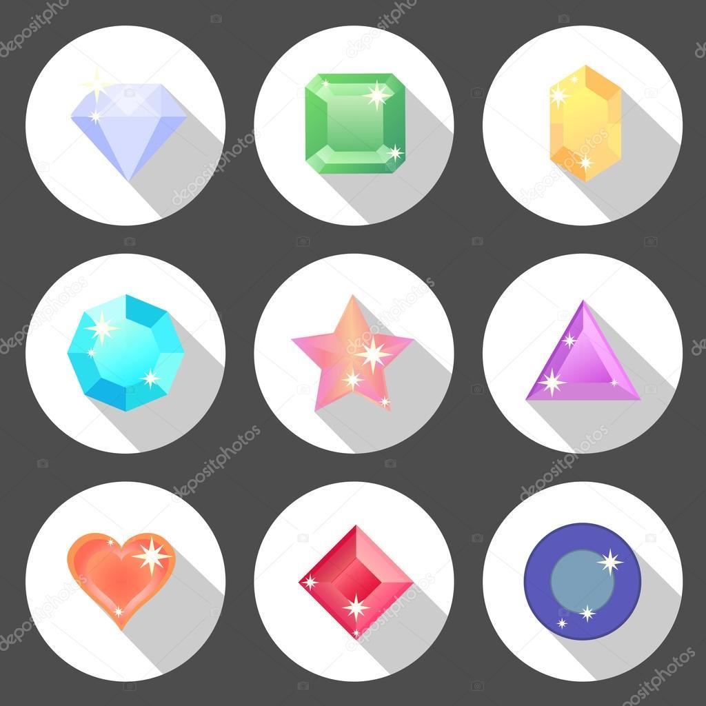камни иконки: