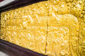 Sculpture on the temple wall in Chiang Mai, Thailand — Stock Photo