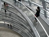 Cirkulär gångväg — Stockfoto