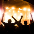 Concert crowd - Stock Photo