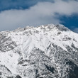 Snow covered mountain — Stock Photo