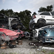 car junkyard — Stock Photo