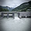 Stock Photo: Hydroelectric Power Station