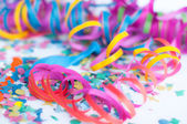 Party confetti — Stock fotografie