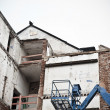 Destruction of Old Building — Stockfoto
