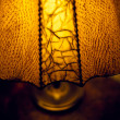 Old table lamp — Stock Photo