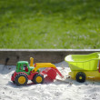 Toys in playground — Stock Photo