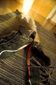 Worn Sneakers — Stock Photo