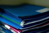 Staple of documents — Stock Photo